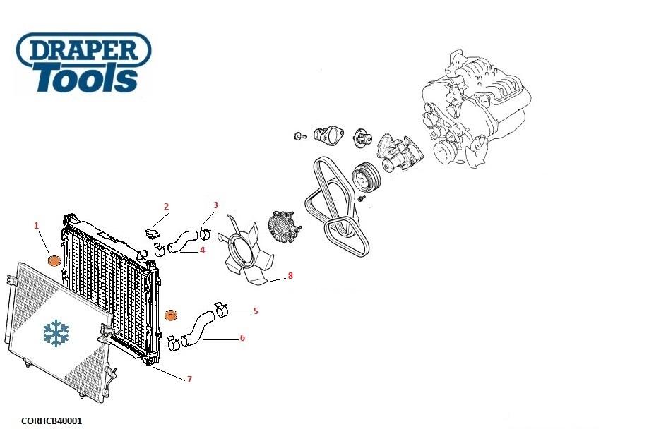 Radiators    Hoses  U0026 Caps For Mitsubishi L200 2 5l Diesel