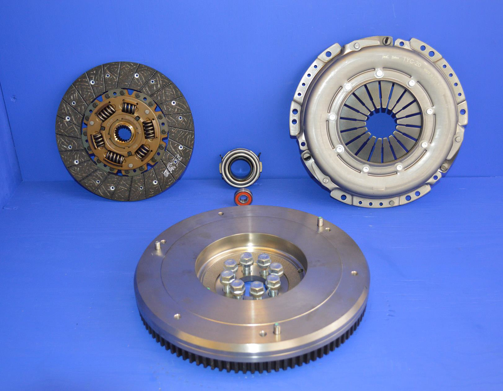 FOR NISSAN NAVARA NP300 PATHFINDER D40 2.5TD CLUTCH SOLID FLYWHEEL CONVERSION