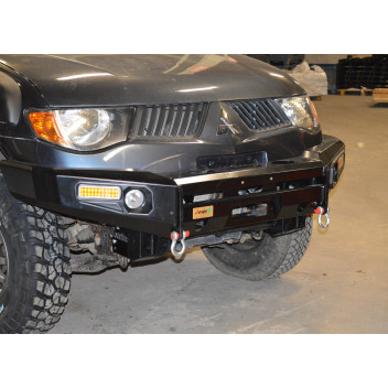 HEAVY DUTY FRONT WINCH BUMPER
