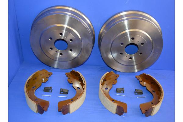 SAFEBRAKE Performance 2011-2018 brake upgrade 3 Inch Lift Mazda BT-50 UP//UR