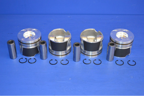 ENGINE PISTON SET STD (4) (WITHOUT RINGS) for NISSAN