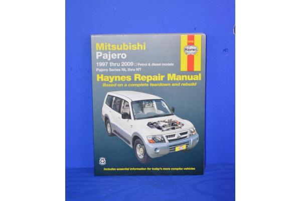 HAYNES WORKSHOP MANUAL for MITSUBISHI SHOGUN