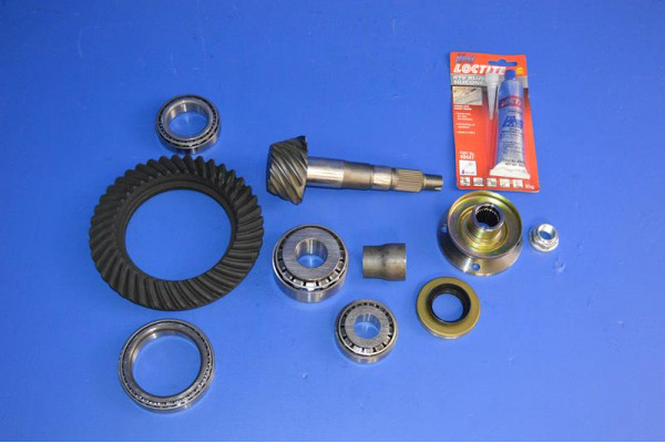 FRONT DIFFERENTIAL REBUILD KIT 41:10 RATIO (With Diff
