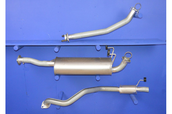 EXHAUST PIPE KIT FULL SYSTEM for TOYOTA LAND