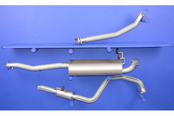 TOYOTA HILUX SURF 3.0 TD MIDDLE BOX EXHAUST /'93 /'96