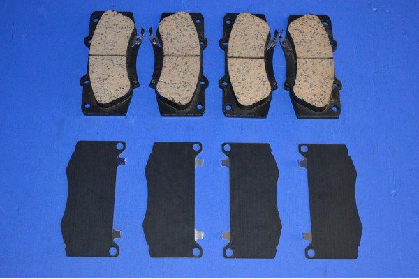 NISSAN NOTE 2006-2016 FRONT BRAKE PADS WITH FITTED ANTI SQUEAL SHIMS