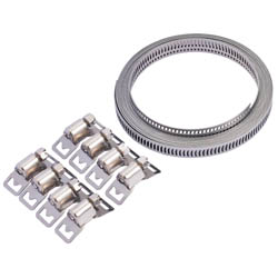 8mm External Circlip Stainless Steel **NON LUGGED**